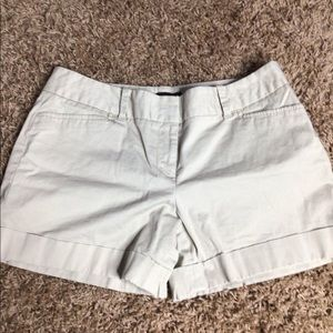 Khaki shorts by The Limited